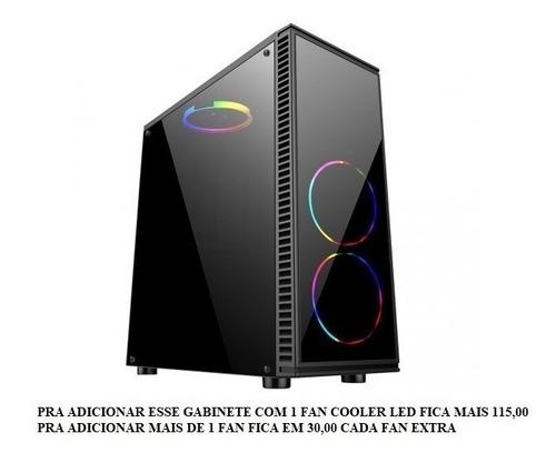 cpu gamer barata amd a6 7480 4gb s/ssd video radeon r5 3leds