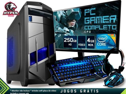 cpu gamer barato ²core hd320g 4gb wifi autocad corel pb lol