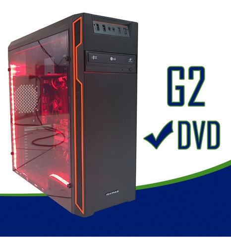 cpu gamer / core i5 8400/ 16gb ddr4/ 1tb/ led