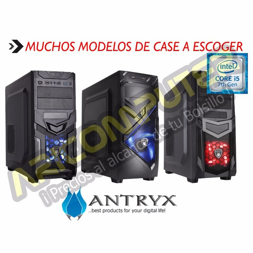 cpu gamer core i5 ram 8gb hdd 1 tb video gtx 1050ti 4gb ddr5