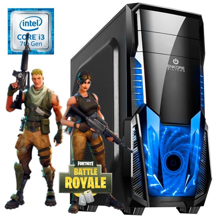 cpu gamer fortnite i3 7ma ram 8gb hdd 500gb video gt1030 2gb - gt 1030 2gb gddr5 fortnite
