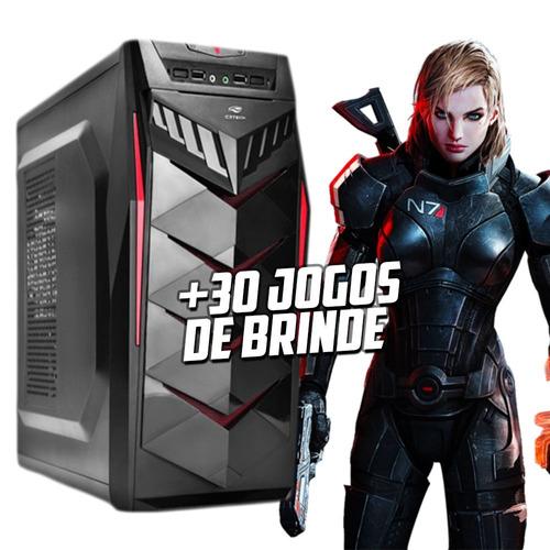 cpu gamer i3-9100f, 4gb ddr4, gtx 1050ti, promoção