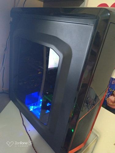 cpu gamer i5 7400 ssd + hd + 12g