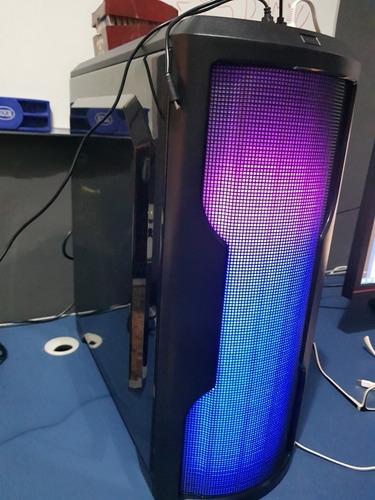 cpu gamer i5 9600k gtx 1650 ssd 480 16gb ram + brinde