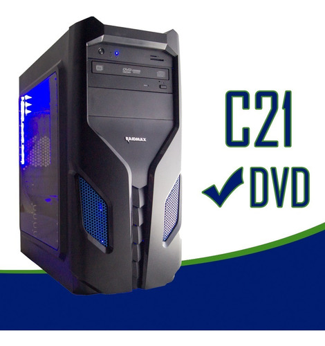 cpu gamer intel/ core i5/ 16gb/ 1tb / ssd 240gb / wi-fi/ led