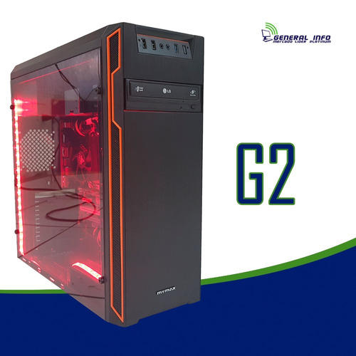 cpu gamer intel/ core i5/ 16gb / 2tb / gtx1050ti 4gb / wifi.