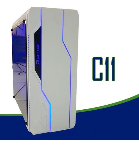 cpu gamer intel / core i5 / 16gb /500 gb / wi-fi / led / gab