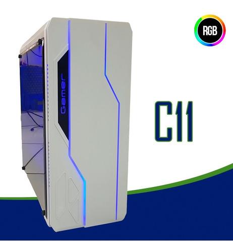 cpu gamer intel/ core i5/ 8gb/ 1tb/ gt1030 / wi-fi/ led gab