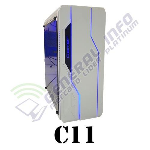 cpu gamer intel/ core i5/ 8gb/ 1tb/ gtx1050/ wifi/ led gab.