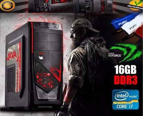 cpu gamer intel core i7 7700 8gb gtx 1060 6gb hd 1tb wifi