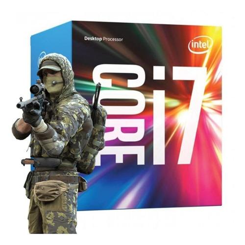 cpu gamer intel core i7 7700 gtx1060 6gb 16gb ddr4 ssd 240gb