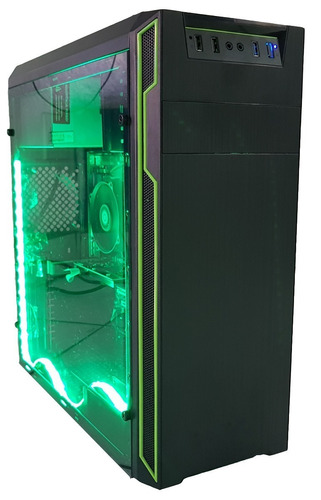 cpu gamer intel g3930/ 1tb/ 8gb/ hd 610/ hdmi/ + 42 jogos