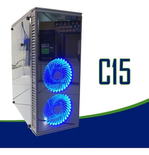 cpu gamer intel/core i5/ 32gb/ 1tb/ssd / gtx 1070/ led / gab