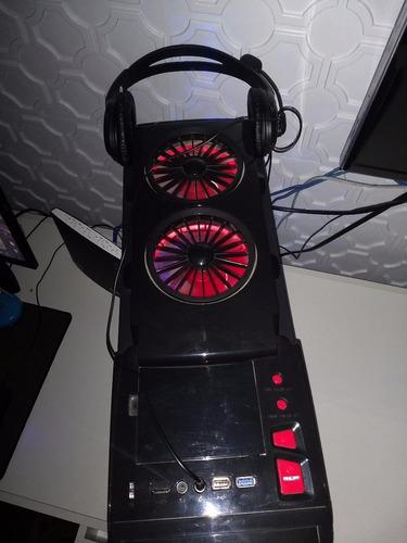 cpu gamer pc (placa de video 4gti, 12gb de ram, 1 ssd 240mb)
