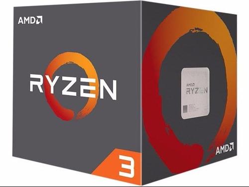 cpu gamer ryzen 3-1300x 3.7ghz ram 16gb 1tb video rx 2gb