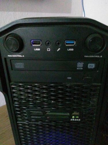 cpu gamer ryzen 5 - ddr4 2666 - rx 560 oc - ssd