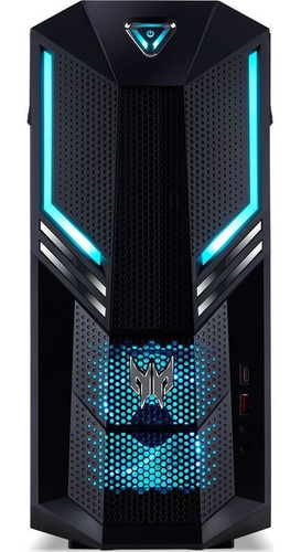 cpu gaming acer predator po3-600 core i5-9400f, 8gb de