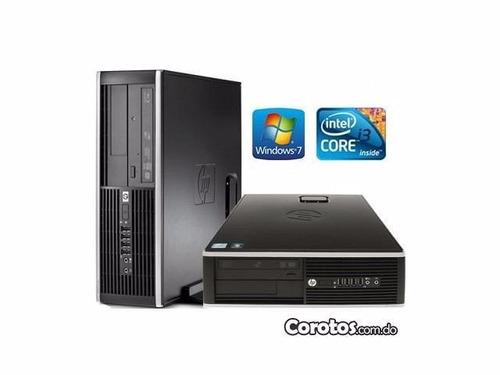 cpu hp 6300 core i3 a 3.30ghz memoria 4gb, disco duro 500gb