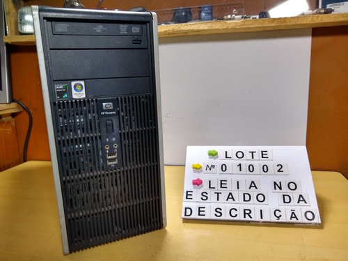 cpu hp amd athlon x2 dual core 2.3gb 4gb ram 160hd leia anu