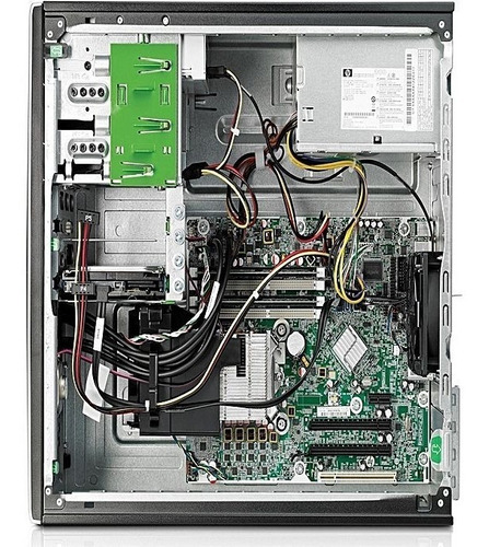 cpu hp compac elite core i7 4gb 500gb - seminovo