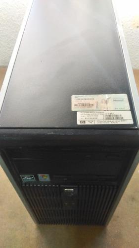 cpu hp compaq dc5750 microtower - hd 80 gb - usada