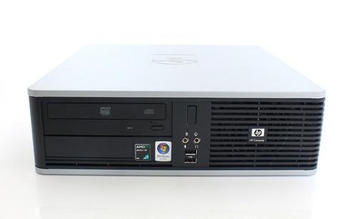 cpu hp compaq dc5850 amd 2gb hd 80gb teclado e mouse