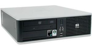 cpu hp compaq dc5850 amd 4gb hd 160gb teclado e mouse