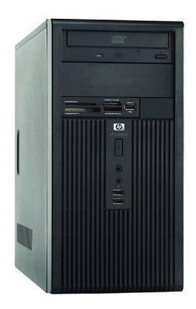 cpu hp compaq desktop hd 80 gb  usado perfeito