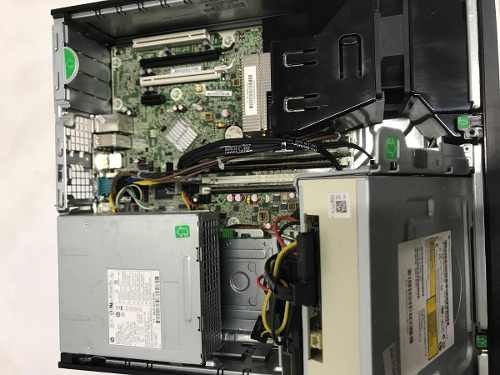 cpu hp compaq elite 8300 sff i7 3ªg 4gb 320gb  semi nova