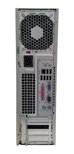 cpu hp compaq windows 7 4gb 160gb core 2duo seminovo!!