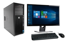 Cpu Hp Core I7 16gb 1tb + 120 Ssd Monitor 24' Wifi