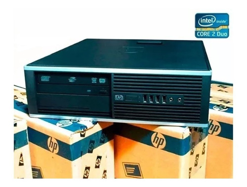 cpu hp ddr3 computadora core 2 duo  320 gb  2 gb ram 1 año g