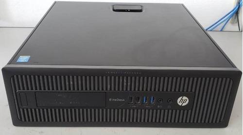 cpu hp elitedesk  800g1 sff core i5 4570 3.2ghz hd 500gb 8gb