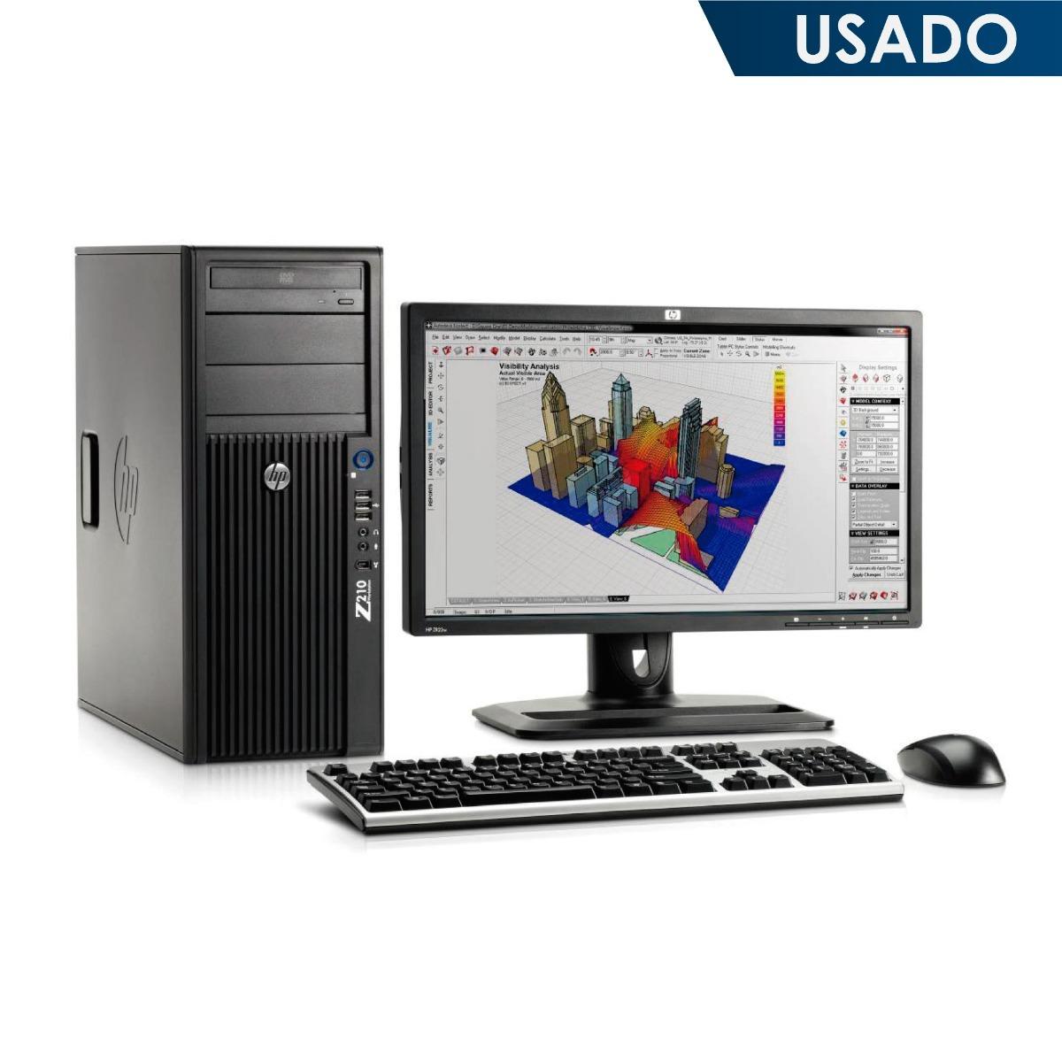 Cpu Hp Z620 Workstation Xeon 24 Gb / 500gb + Monitor 19 - $ 1 273 900