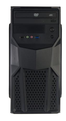 cpu intel c2d e8400 + 4gb + hd 500gb + dvd + wi-fi + office