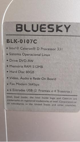cpu intel celeron ram 512mb hd80gb
