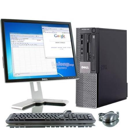cpu   intel core 2 duo 2.30ghz + monitor 17   +teclado,mouse