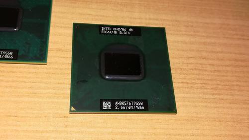 cpu intel core 2 duo t9550 2.66ghz notebook (p)