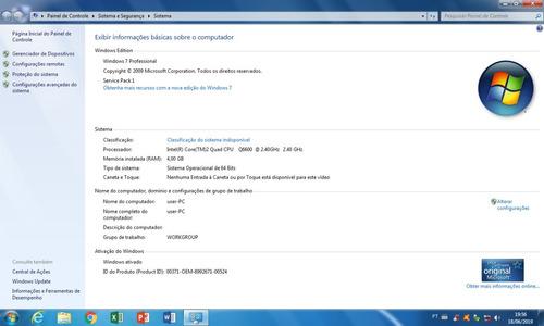 cpu intel core 2 quad q6600 2.4ghz, 4gb de ram (revisada)