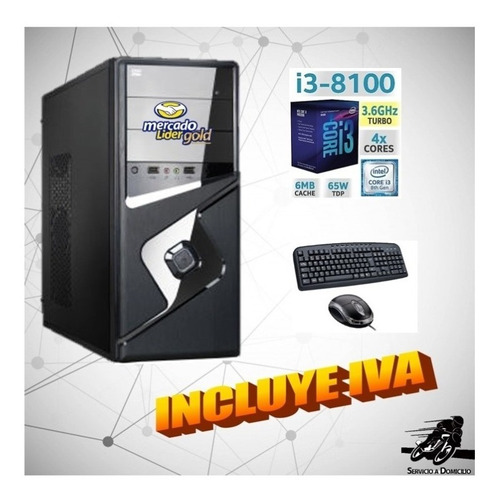 cpu intel core i3 3.6 8va 1tb 4gb computadora, i5/i7