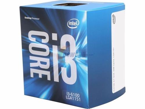 cpu intel core i3 6ta generación ddr4 4gb 1tb envio gratis