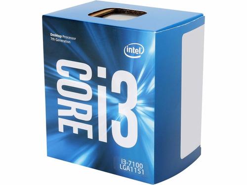 cpu intel core i3 7tma generacion 4gb envio gratis facturado