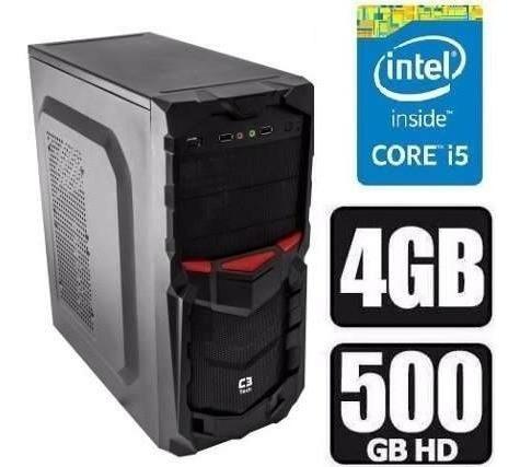 cpu intel core i5  +500 hd + 8gb+ vga 2gb + fonte 500w +wifi