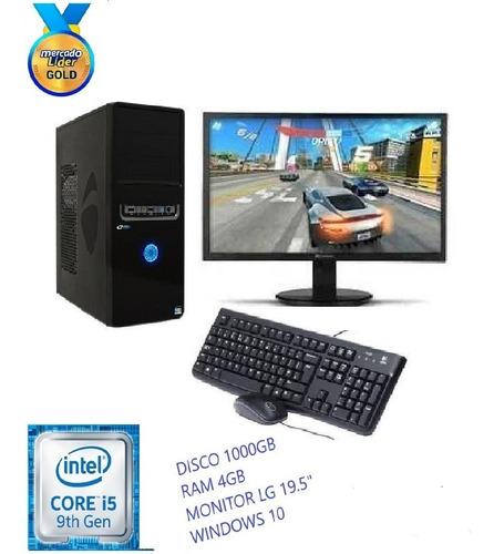 cpu intel core i5 9na gen 1tb 4gb led 20 computadora, i3,i7