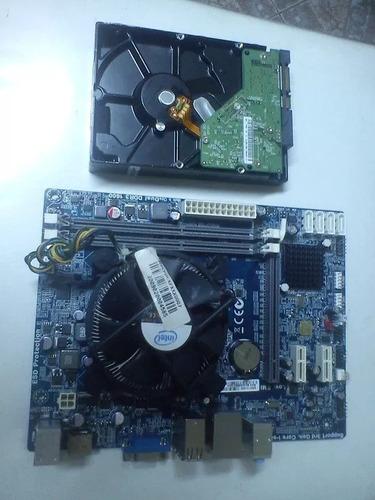 cpu intel core i7-2600 - 8gbram- hd 750gb