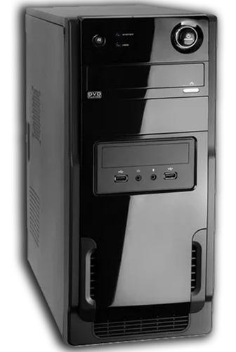 cpu intel dual core 2gb de ram hd 80gb nova wifi + garantia