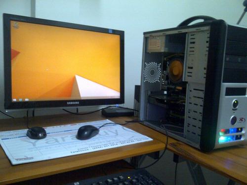 cpu intel dual core+tm xfx 960i sli ultra+hdd 320 gb