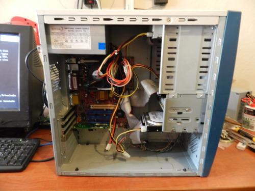 cpu intel pentium 4 2.8ghz 1.2gb 80gb win xp cyber oficina