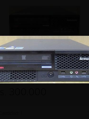cpu lenovo dual core/core duo ram 2 gb hdd 160 gb