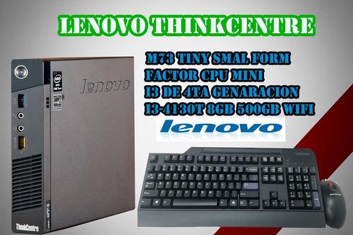 cpu lenovo i3 4ta thinkcentre m73 tiny smal form factor wifi